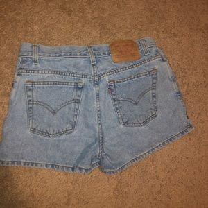 Levi's Shorts - Levi's studded shorts